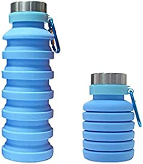 AF Folding Retractable Water Bottle | Portable for Hiking Travel Camping Sports