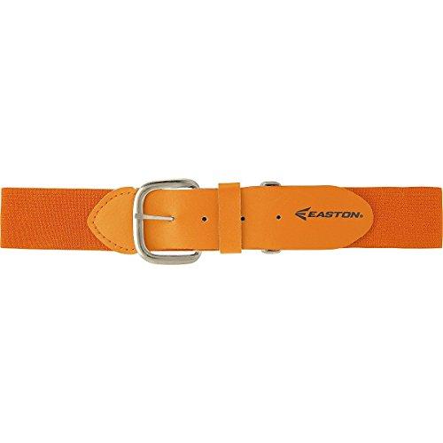 Easton Adjustable Elastic Baseball Belt (Gold (Bright Orange))