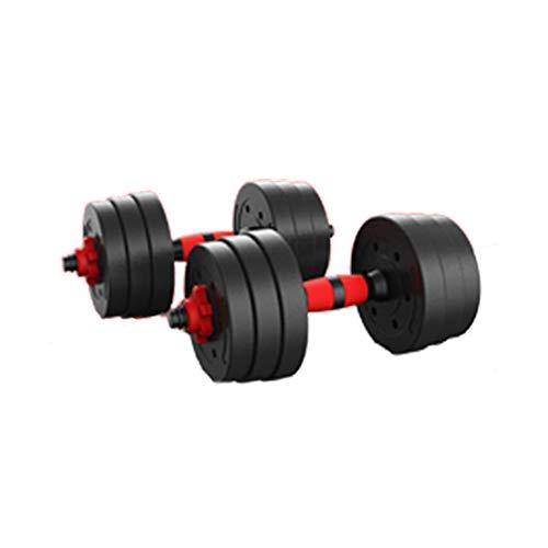 unknow Hanteln, einstellbare Sportgewichte Langhantel Fitness Gewichtsübung für zu Hause und im Fitnessstudio Sehr gut geeignet für das Muskeltraining für Männer