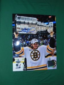 Boston Bruins Adam McQuaid Autographed 8x10 Photo