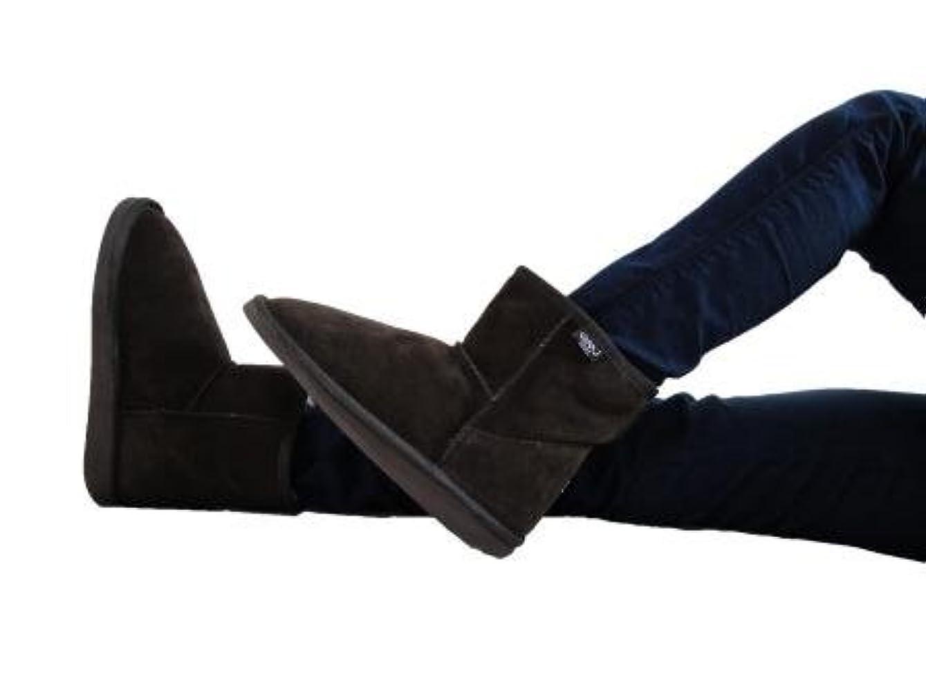 育成かすれた靴下[エミュー] BRONTE MINI W20003 Chocolate Size24cm