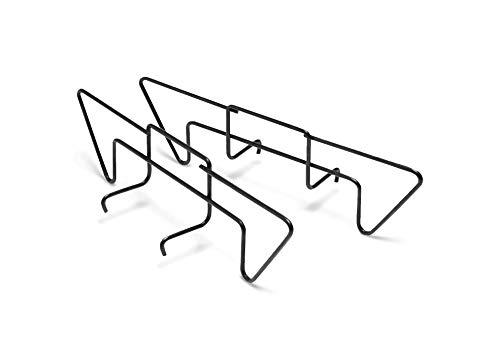 Weber 7402 Holzkohlehalter 2-er Set, Holzkohleschienen, indirkete Hitze, passend für Holzkohlegrills 47, 57 und 67 cm