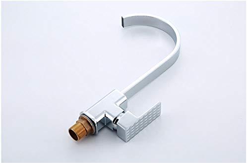 YZDMC Grifo de Cocina Mezclador de Agua fría y Caliente Grifo de Fregadero de Cocina Grifo de Agua Rotación de 360 Grados