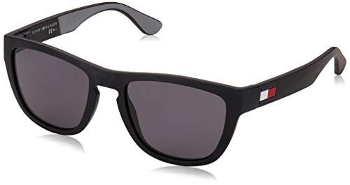 Tommy Hilfiger TH 1557/S gafas de sol, BlackGrey, 52 para Hombre