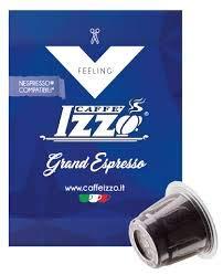 100 capsule compatibili Nespresso miscela grande espresso caffè Izzo