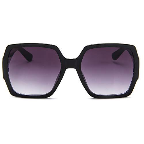 EDTO Sunglasses for Women Polarized UV Protection Blue Light Blocking Glasses Men Women Vintage Round Rim Frame Eyeglasses