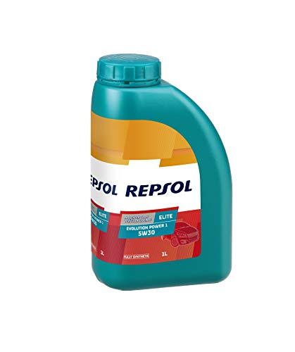 REPSOL Elite Evolution Power 1 5W-30 Aceite De Motor Para Coche, 1l