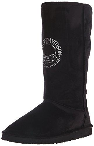 Harley-Davidson Women's Jaimie Motorcycle Shoe, Black, 11 M US