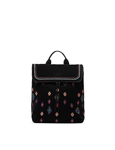 Desigual Womens Back_July TRIBU NERANO Backpack, Black, One Size