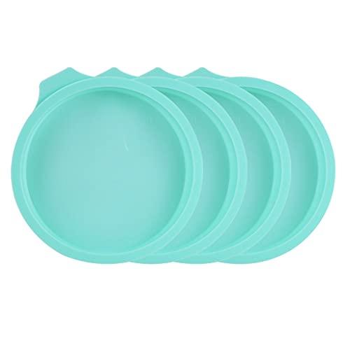 Haorw Molde de Pastel 3D Antiadherente para Hornear de Grado alimenticio, Herramienta para Hornear Pan, Molde para Hornear, Bandeja Antiadherente, Molde para Hornear del Desierto, Verde