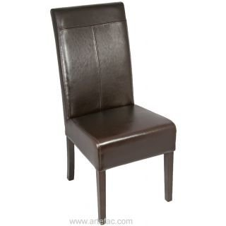 ARTeFAC - Leather Dining Chair w/T-Patch R-052
