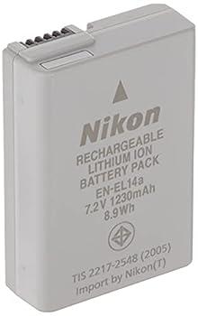 Nikon 27126 EN-EL 14A Rechargeable Li-Ion Battery  Grey