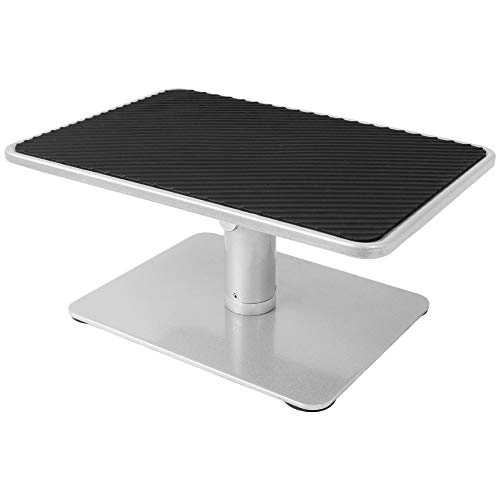 VIVO Universal Height Adjustable Ergonomic Computer Monitor and Laptop Riser Tabletop Desk Stand STAND-V000S