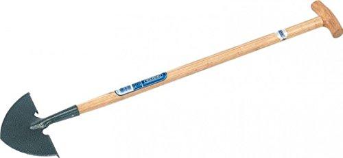 Draper 14307 Gazon 25,4 x 10,2 cm en Acier Carbone avec Manche en frêne