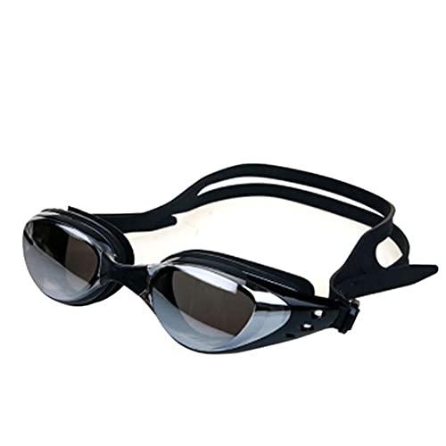 Anti-Fog Unisex Adulto Natación Marco Piscina Deporte Gafas Espectáculos Impermeable (Color : KH066B, Size : One Size)