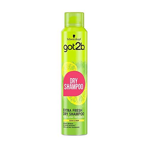 Got2B Fresh It Up Shampoo Secco Extra Fresh, Freschezza Istantanea, Fragranza Agrumata, senza Residui, Formato 200 ml