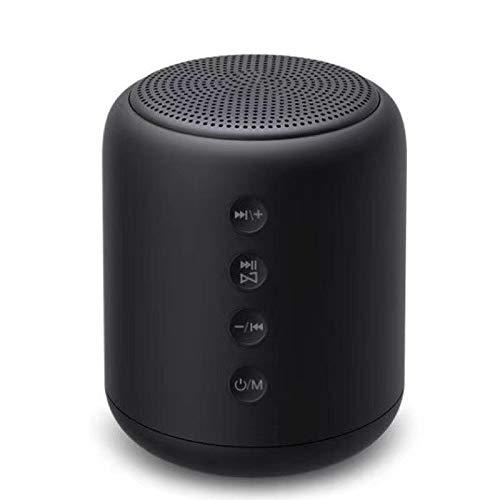 QAZW Altavoz Portati Inalambrico-Altavoz Bluetooth Ducha con FM Radio-Radios de Ducha a Prueba de Agua para Playa, Ducha, Viaje y más,Black