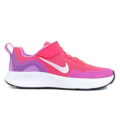Nike Wearallday (PS), Scarpe da Ginnastica, Hyper Pink White Fuchsia Glow, 33.5 EU