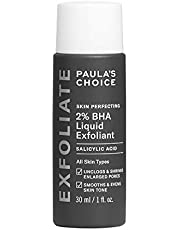 Paula's Choice Skin Perfecting 2% BHA Liquid Exfoliant | Face Exfoliator Fights Breakouts, Blackheads & Pores | Fast Absorbing, Leave on | Combination & Oily Skin | Travel size 30 ml