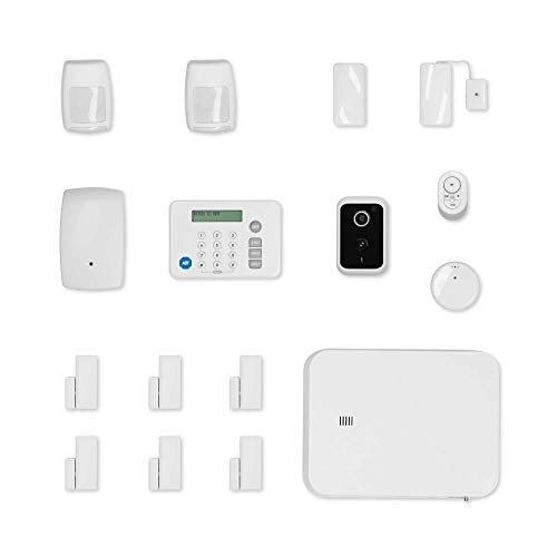 ADT DIY 18-Piece Easy, Smart Home Security System - Optional 24/7...