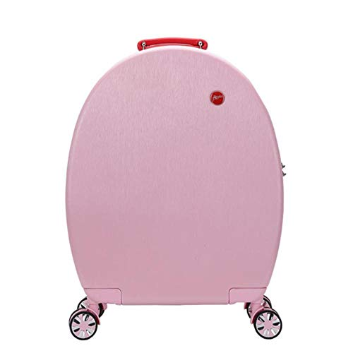 TTZY 20' inch girls spinner small travel trolly bag set carry on suitcase cute luggage on wheels,only luggage pink,20'