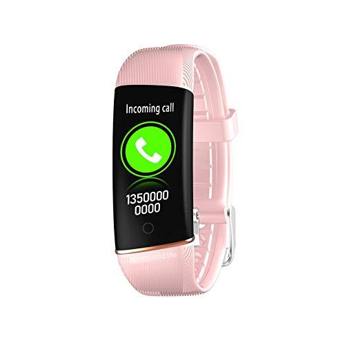 SmartWatch aptitud Muñequera rastreador táctil completa aptitud del reloj impermeable con monitores del ritmo cardíaco podómetro hombres mujeres del reloj del reloj los deportes para iOS Android