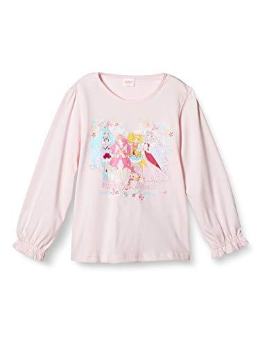 [プリキュアシリーズ] 女児長袖Tシャツ FG9142、ヒーリングっどプリキュア玩具付き長袖Tシャツ20秋冬 ピンク 日本 110 (日本サイズ110 相当)