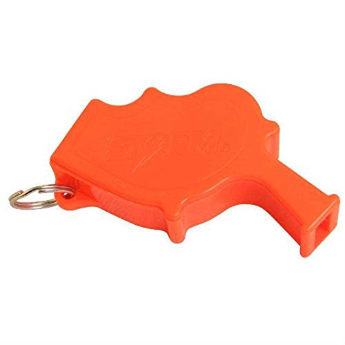 All Weather Whistles Safety Whistle - The Storm Survival Crime Whistle - Easy to Hold and Extremely Loud