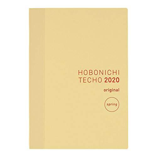 Hobonichi Techo Original Book Apr start (Japanese/A6/Apr 2020 Start/Sun Start)