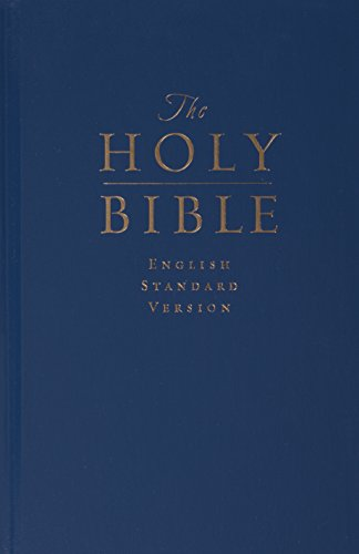 Compare Textbook Prices for The Holy Bible: English Standard Version Pew and Worship Bible, Navy Blue  ISBN 9781581343793 by ESV Bibles by Crossway