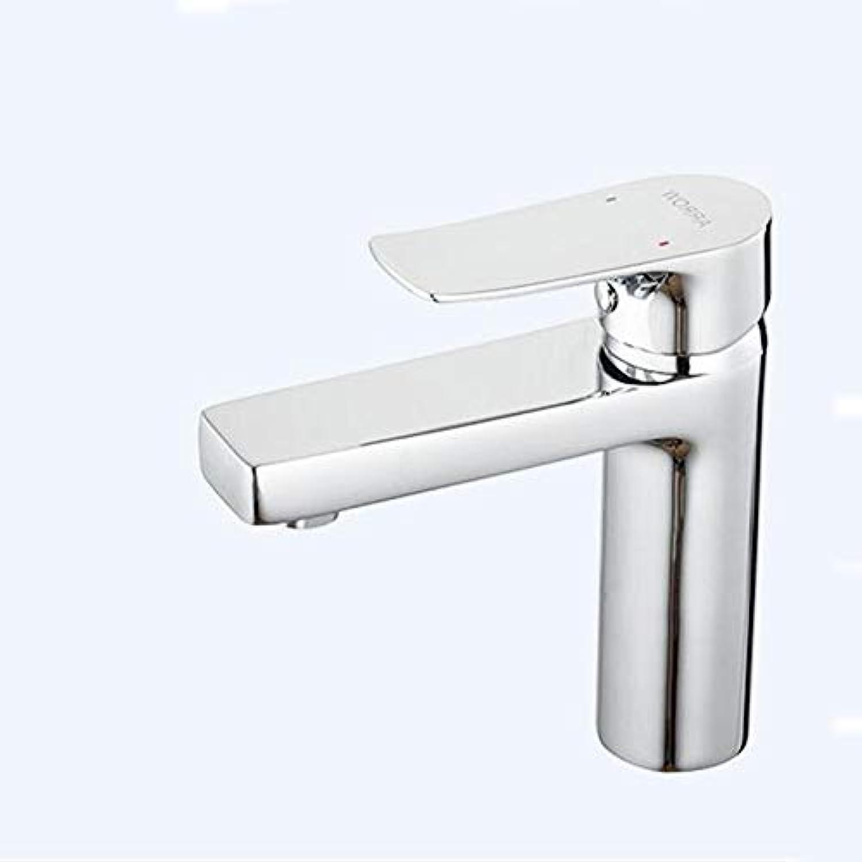 HY Spüle Wasserhahn der Küche Wasserhahn Waschbecken hei und kalt Wasserhahn drehen (Farbe   A)