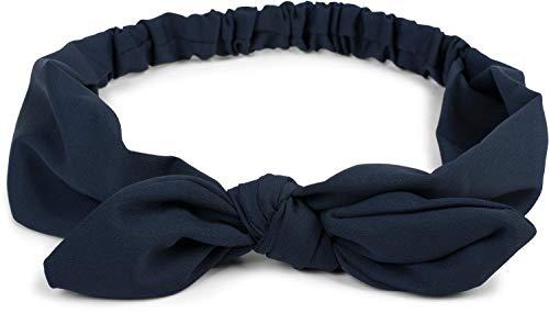 styleBREAKER cinta para el pelo de mujer monocolor con lazo
