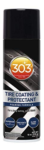 303 Tire Coating & Protectant - Sling-Free Formula - for A Long Lasting Satin Finish - Prevents Tire Dry Rot - Superior UV Protection, 18 fl. oz. (30393)