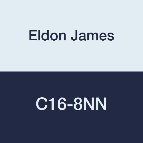 Overseas parallel import regular item Eldon James C16-8NN Natural Nylon Bar Hose Coupler Reduction Large discharge sale 1
