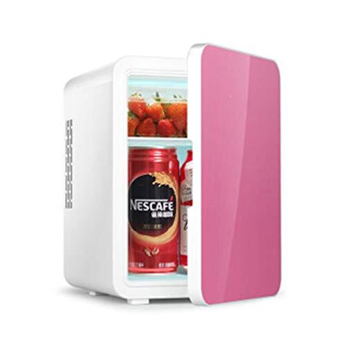 Flashing mini-koeler, 4 l, voor auto, dubbel gebruik, koelkast, kantoor, meer warmte, slaapzaal, single-core