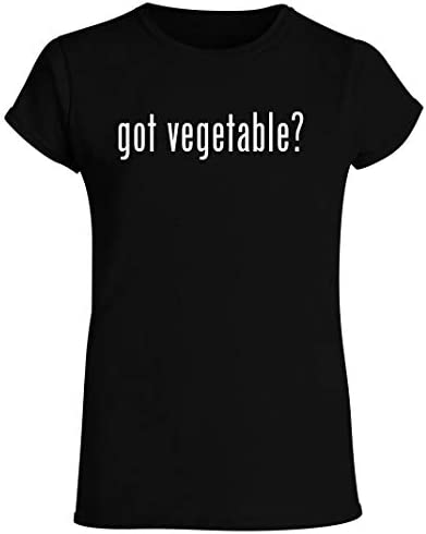 got vegetable Women s Crewneck Short Sleeve T Shirt Black Medium product image