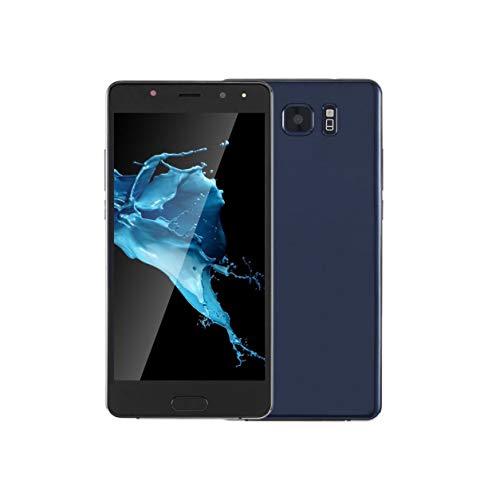 Teléfono móvil de 6 pulgadas MTK6580 Smartphone para Android Dual S8 Dual Sim Stand, azul