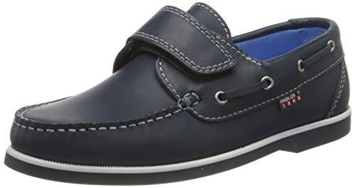 Pablosky Jungen 126720 Bootsschuhe, blau, 21 EU