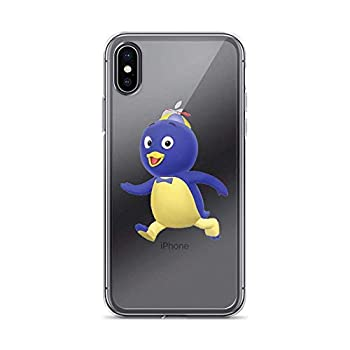 Compatible with iPhone XR Case Backyardigans Pablo Blue Penguin American Animated Kid Show Pure Clear Phone Cases Cover