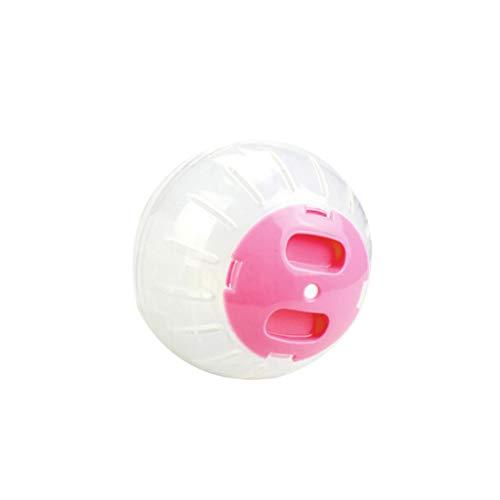 bluederst Laufball für Kleintiere, Hamster, Kunststoff, kleine Haustiere, Rennmäuse, Spielzeug, Mini-Ball Small Rose