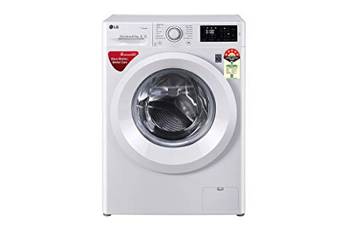 LG 6.5 Kg 5 Star Inverter Fully-Automatic Front Loading Washing Machine (FHT1065HNL White, 6 Motion Direct Drive & Steam