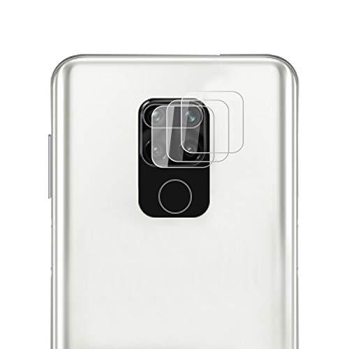 ROVLAK Cámara Protector de Pantalla para Xiaomi Redmi Note 9 Cámara Cristal Templado Protector 3-Pack 9H Anti-Explosión Anti-Rasguños Cámara Lens Protector para Xiaomi Redmi Note 9