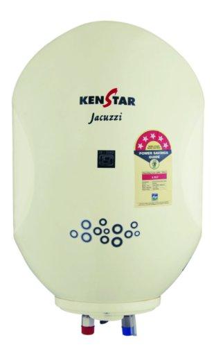 Kenstar Jacuzzi KGS15W5P-GDE 15-Litre 2000 Watt Storage Water Heater (White)