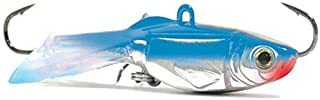 "Ice Lures Acme HG6/BS Hyper-Glide - 2.5"" Bluesilver"