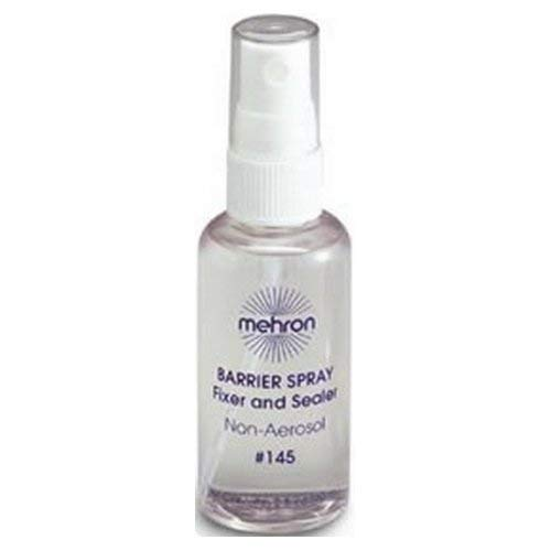 Mehron Barrier Spray Fixer and Sealer - 2 oz.
