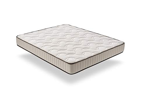 ECCOX - Colchón Visco Luxury Dream Confort Edición Especial - Altura 25 cm - Viscoelástica Natural Efecto Nube - Núcleo HR Pro de Alta Densidad de Poro Abierto - Firmeza Media-Alta (120x200 cm)