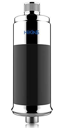 HiKiNS Filtro de ducha, suavizante de agua de 15 etapas, protege tu cabello y la piel, filtro de cabezal de ducha más saludable, filtra eficazmente el cloro de metal pesado
