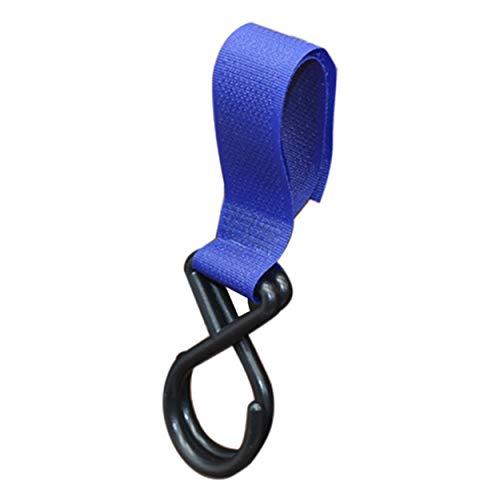 Tree-fr-Life Multipurpose Baby Poussette Crochet Chariot Accessoire Crochet Accoudoir Suspendu Crochet Tronc Nylon Trolley Accessoires Boucle Titulaire - Bleu Royal