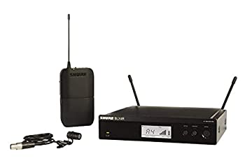 Shure BLX14R/W85 Rack Mount Wireless Microphone System with Bodypack and WL185 Lavalier Mic
