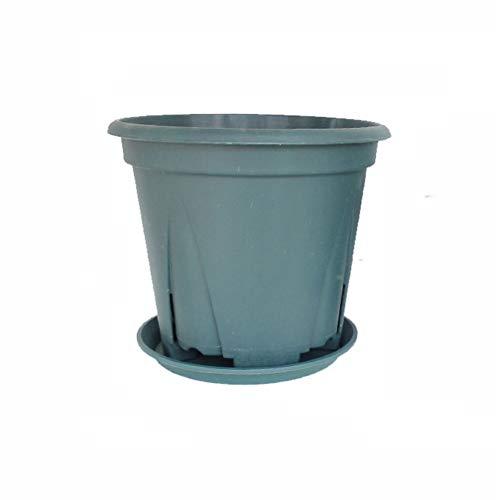 Ornement de Jardin Les Jeunes Plants de Fleurs Plante Container Graine Pots de départ + Bac 5 pièces en Plastique Plantes Nursery Pot/Pots Décoration extérieure Décoration